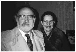 Ludwig Zeller and Susana Wald in Toronto. 1989.