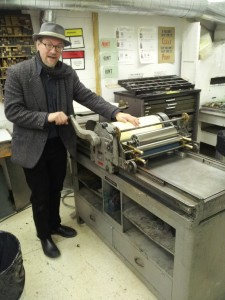 George A. Walker, OCAD University printmaking department, letterpress