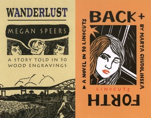 Back+Forth, Marta Chudolinska, Wanderlust, Megan Speers, The Porcupine's Quill, feminism
