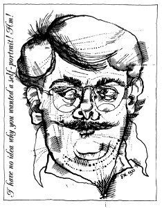 Self Portrait of Frank Newfeld