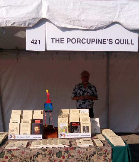 PQL booth at WOTS