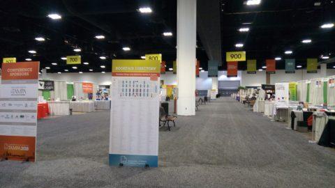 Interior Tampa Convention Center