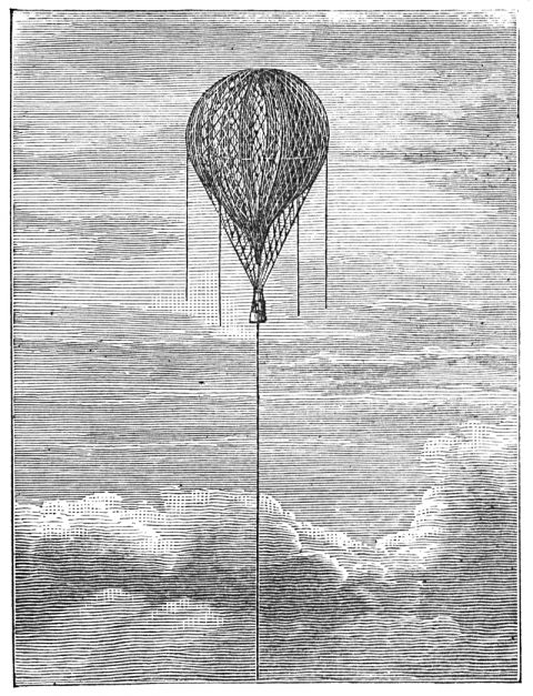 Rising balloon
