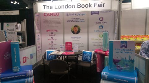 London Book Fair booth