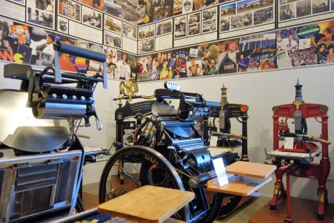 A selection of Hopkinson & Cope presses