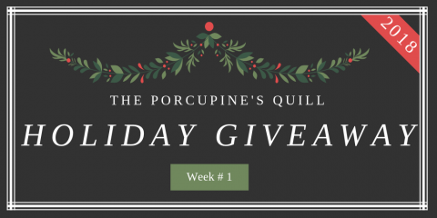 The Porcupine's Quill Holiday Giveaway Week 1
