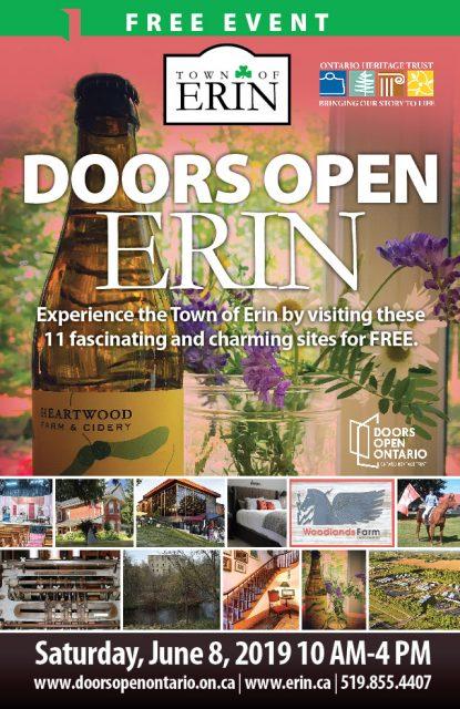 Doors Open Erin flyer