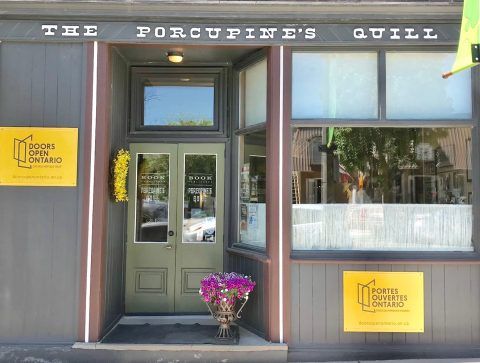 Porcupine's Quill storefront