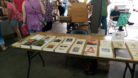 PQL vendor table at Detroit Bookfest.