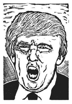 Snark Portrait--Trump as Bellman