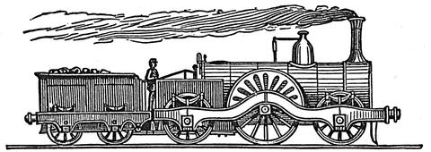 victorian toy train