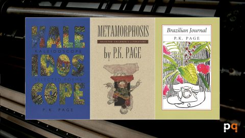 Kaleidoscope, Metamorphosis and Brazilian Journal covers