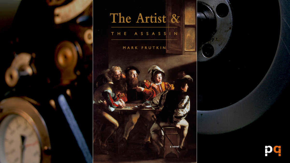 Cover image of The Artist and the Assassin by Mark Frutkin