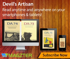 Subscribe to the Devil's Artisan via. Magzter