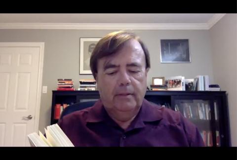 Ed Seaward reading