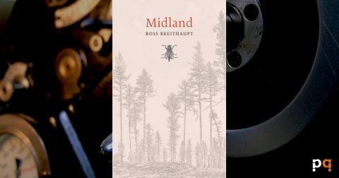 Midland cover on printing press background
